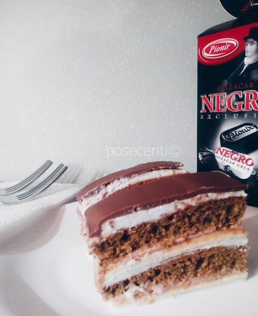 Torta sa Negro bombonama