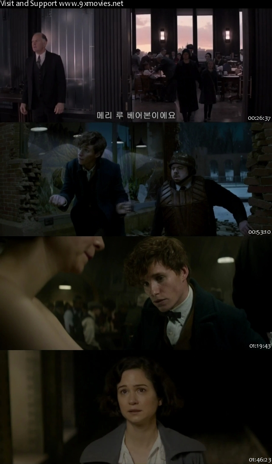 Fantastic Beasts and Where to Find Them 2016 English 720p HC HDRip