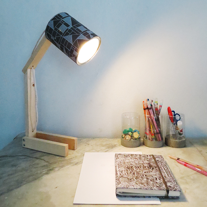 How To Make A Desk Lamp With Can Ohoh Deco