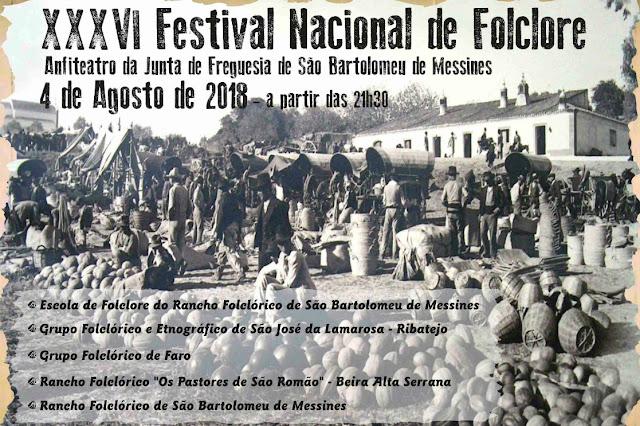 Messines recebe XXXVI Festival Nacional de Folclore