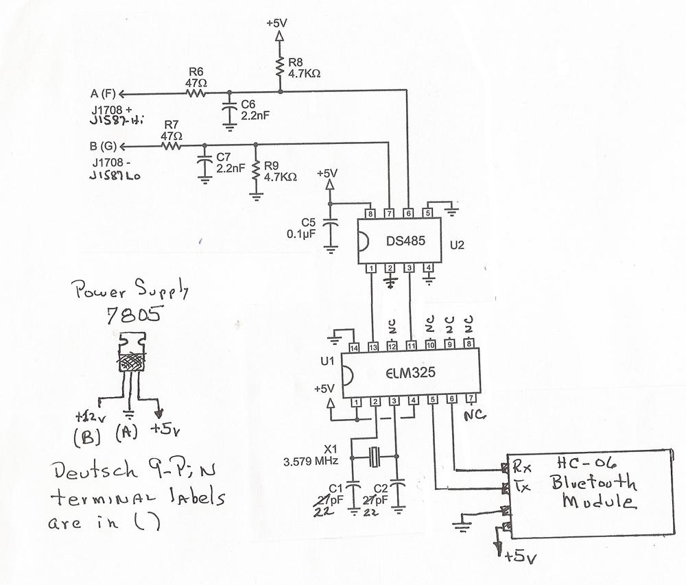 medium resolution of j1587 scanner for motor home a diy motor home j1587 data