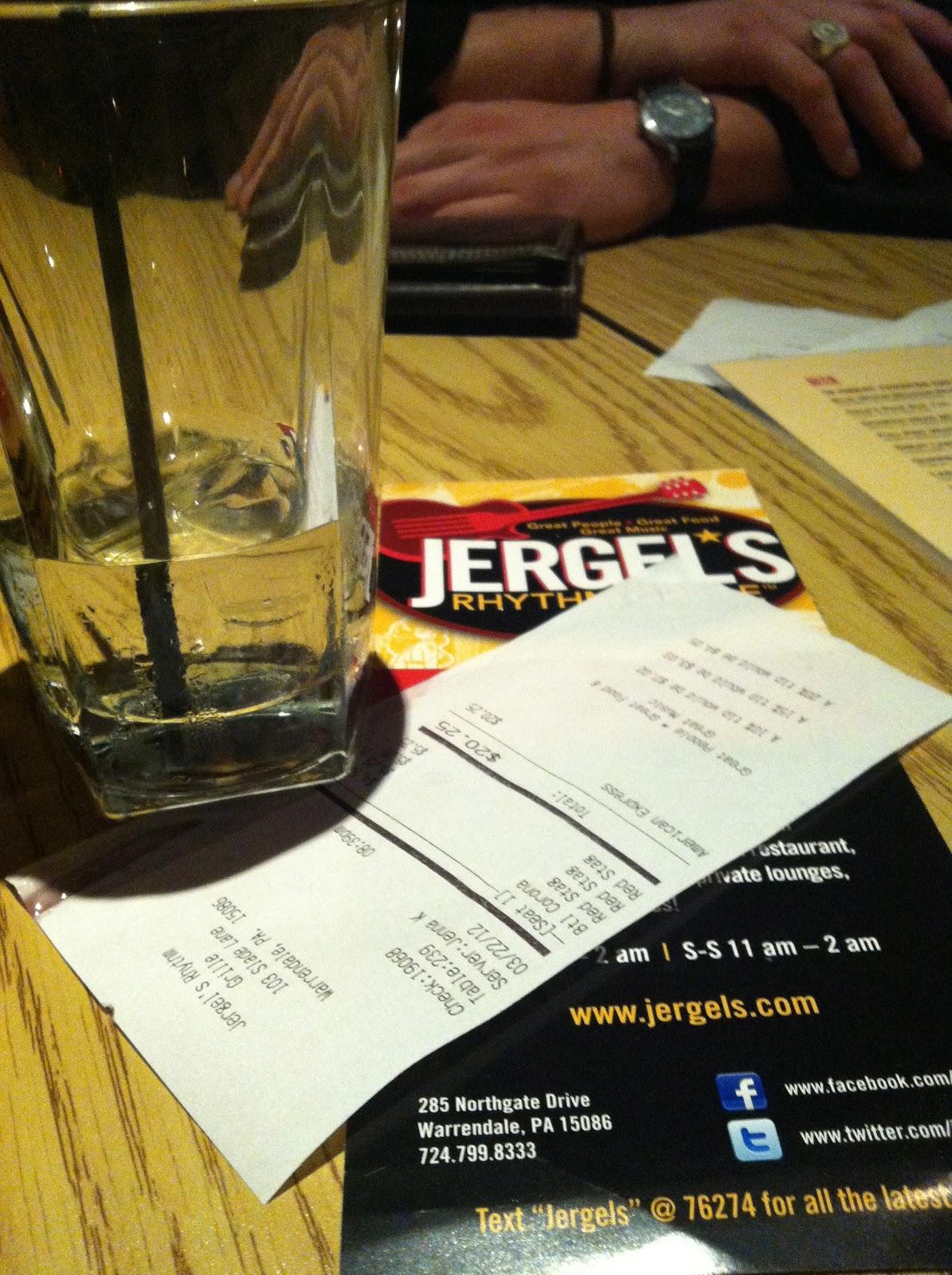 Jergels Happy Hour