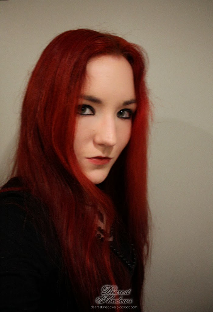 Dearest Shadows: Red Hair & My Red Dye Experimentations - photo#20