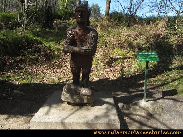 Camino Encantado Llanes: Diañu Burlón