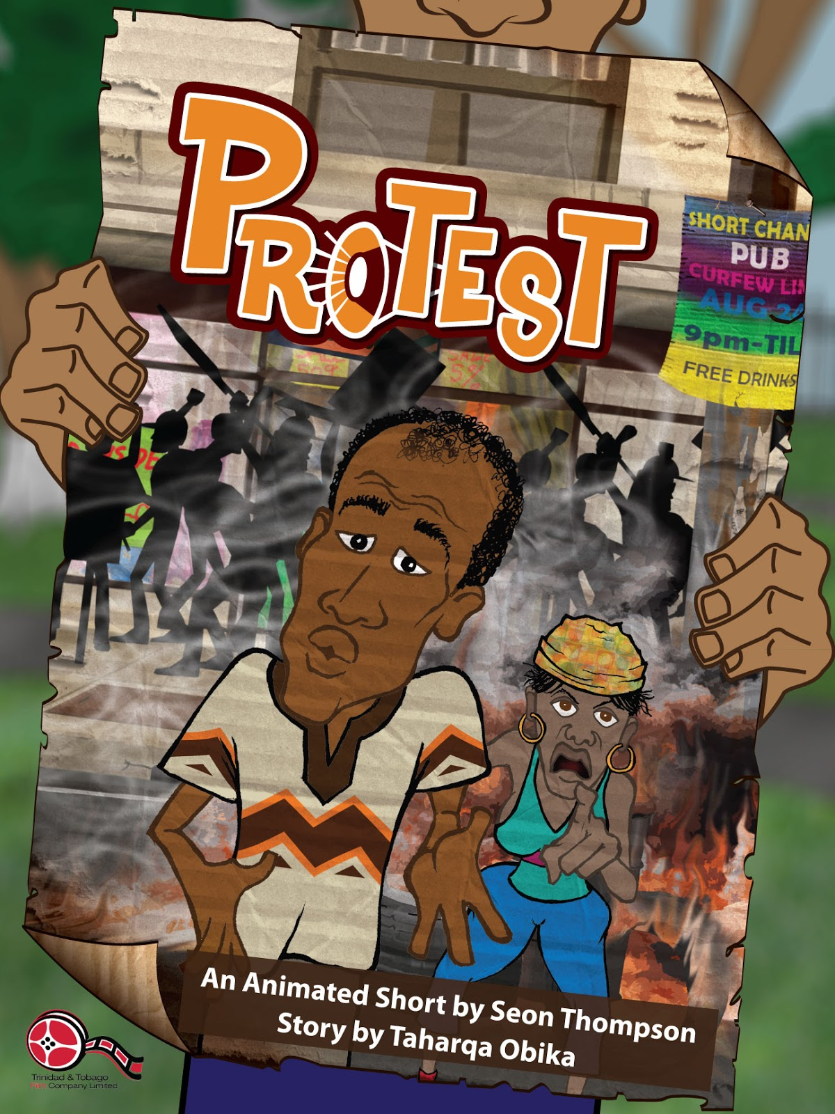Copy Book Page Protest Animation