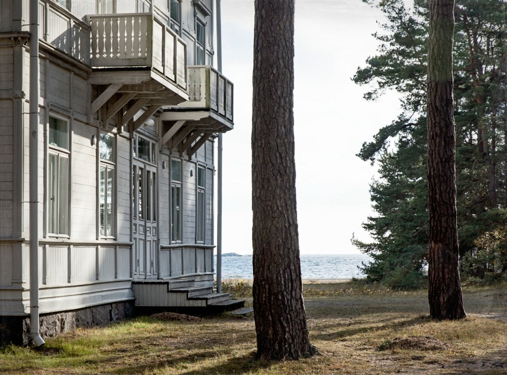 Hanko, valokuvaus, valokuva, suomi, luonto, Frida Steiner, ranta, puutalo
