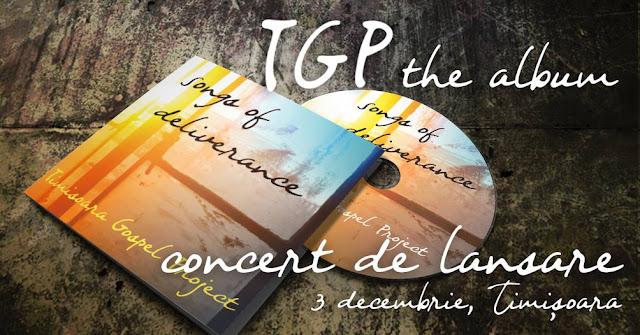 """Timisoara Gospel Project, va sustine la Filarmonica Banatul un concert pentru lansarea primului album """"Songs of Deliverance"""""""