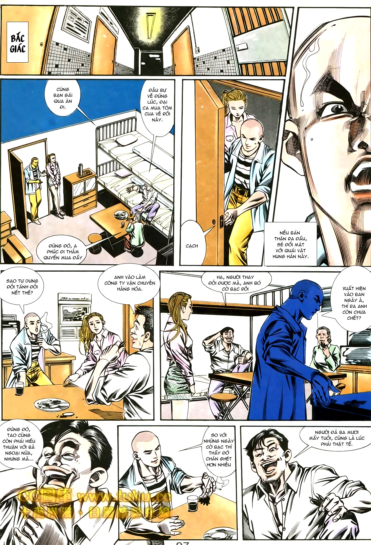 Người Trong Giang Hồ chapter 188: chiến nô trang 2