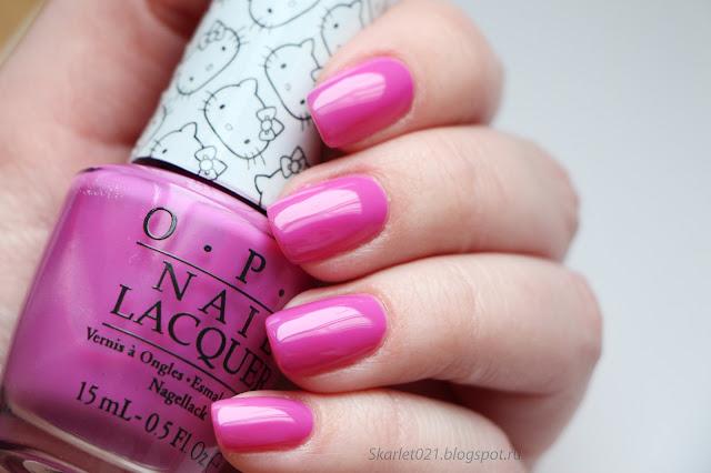 OPI collection Hello Kitty весна 2016