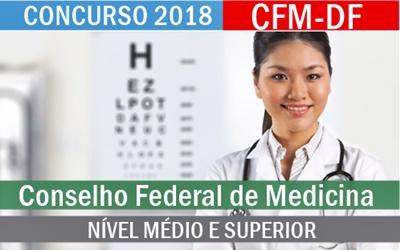 Concurso CFM-DF 2017/2018