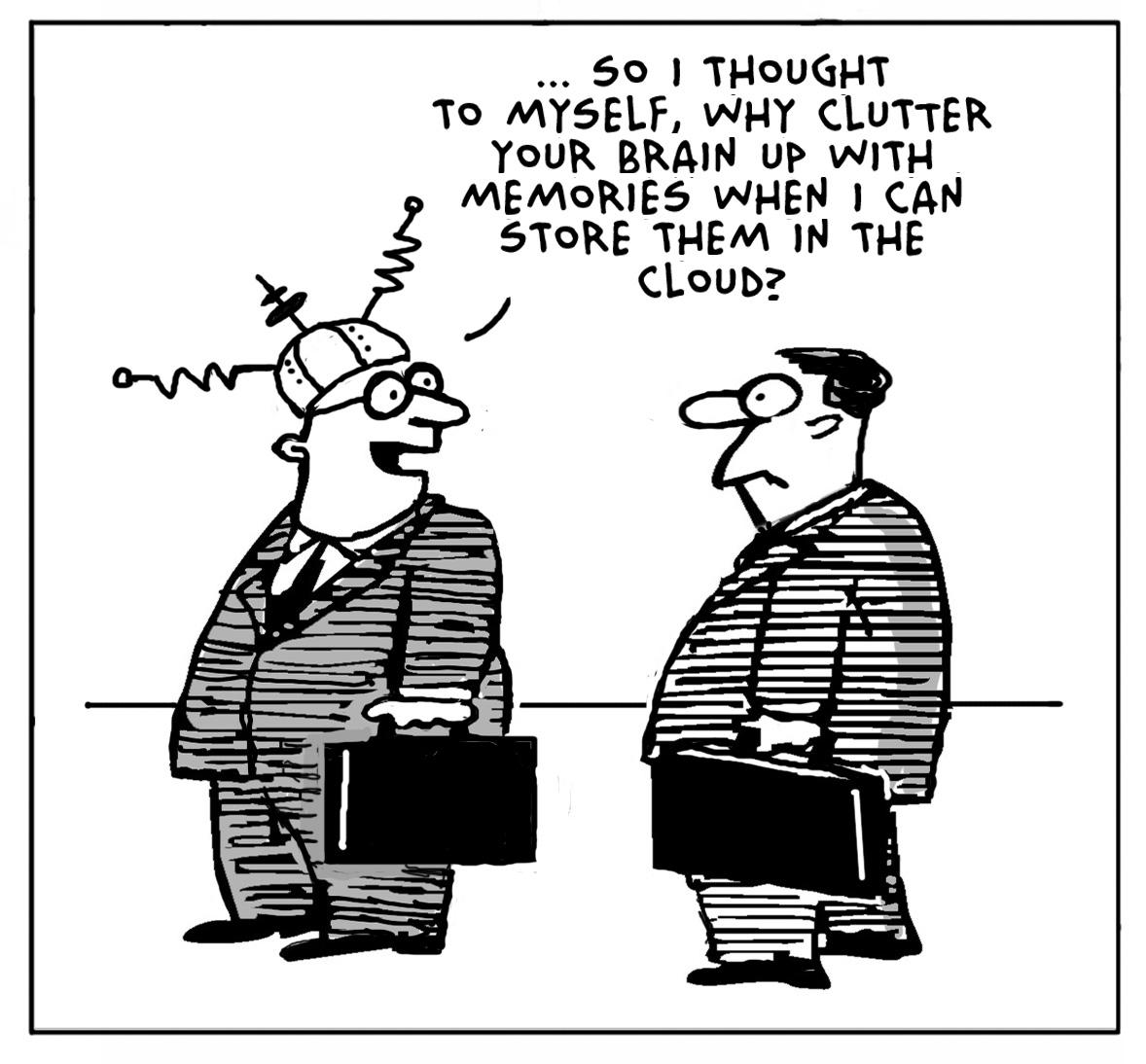 Voice Hub: Cloud Computing (with Cartoons)