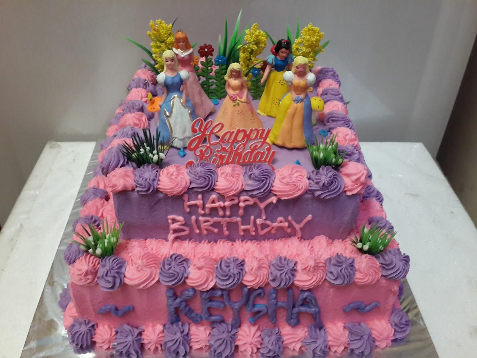Toko Kue Bolu Enak Barbie Birthday Cake