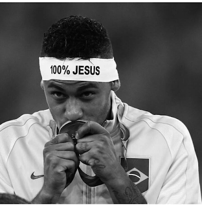See Neymar's bold confession of faith