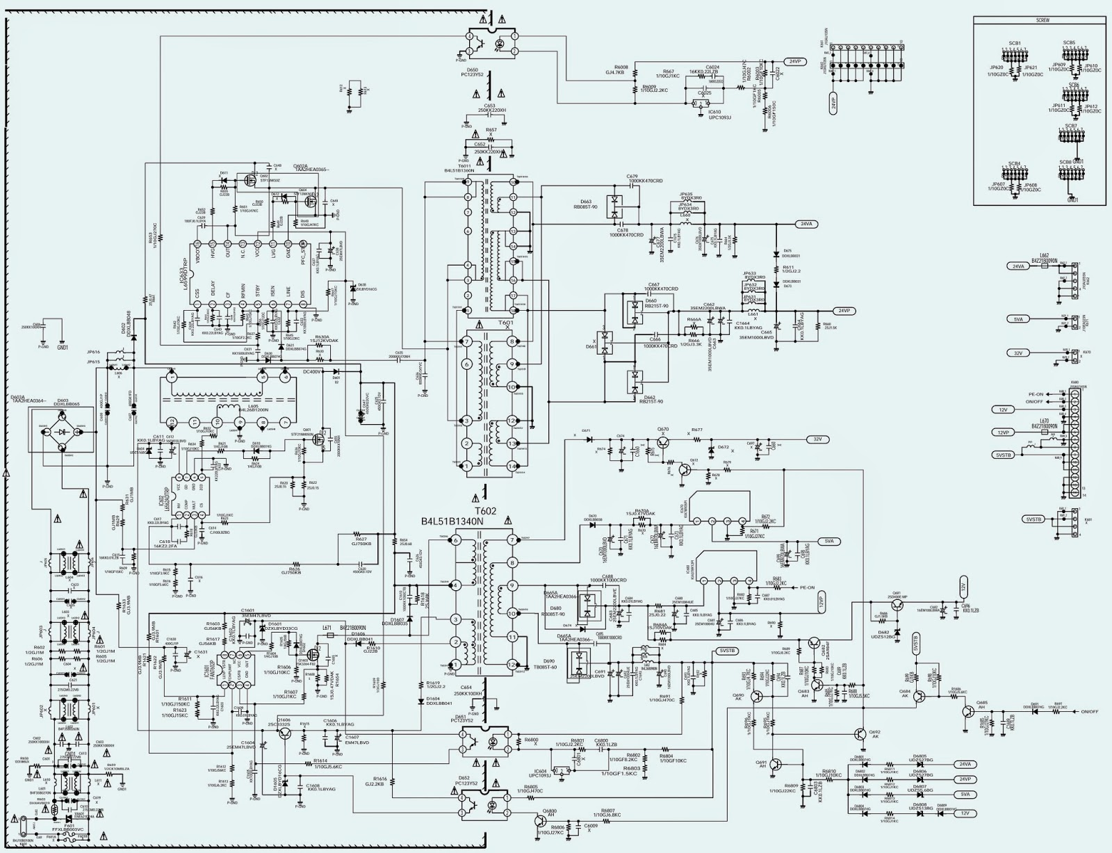 ELECTRONIC EQUIPMENT REPAIR CENTRE : SANYO LCD-42XF6