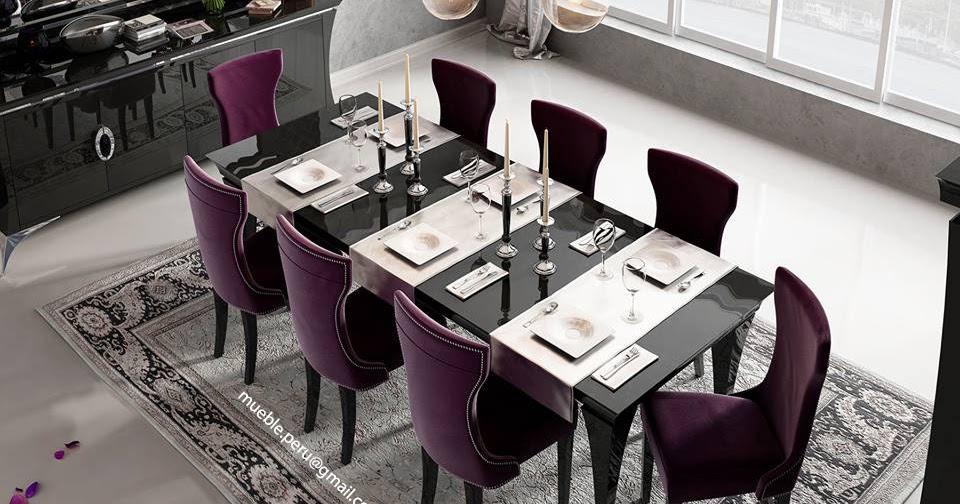 Mueble per muebles de sala finos comedores for Comedores finos