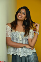 Eesha in a cute deep neck top and Skirt at at Big FM 126.JPG