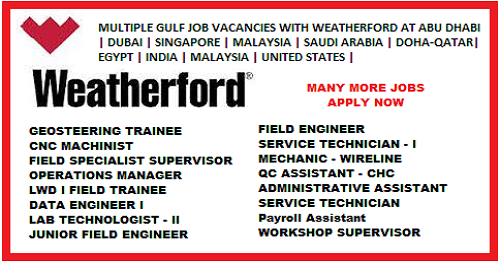 Job openings in weatherford ok