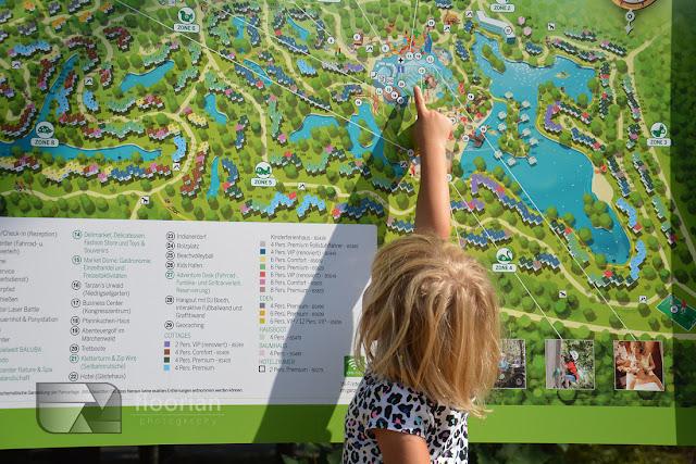 Mapa Center Parcs Bispinger Heide w Bispingen. Super atrakcja dla całej rodziny w Dolnej Saksonii w Niemczech