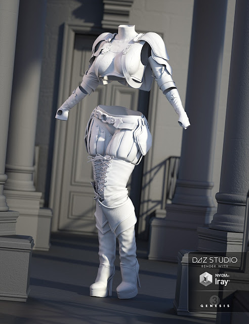 Solaris Outfit for Genesis 3 Female