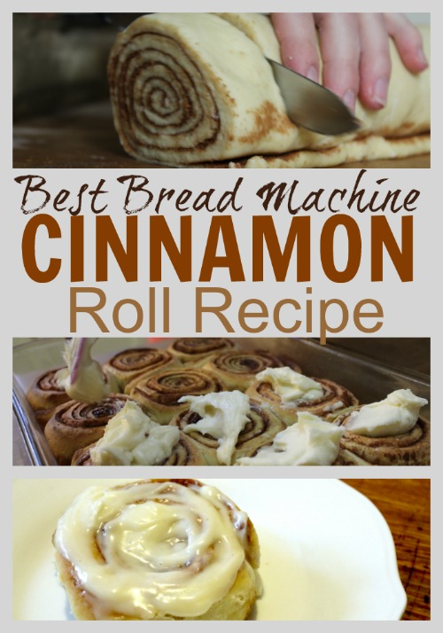 The Unlikely Homeschool Best Bread Machine Cinnamon Roll Recipe