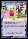 My Little Pony Pie from the Sky Friends Forever CCG Card