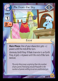 MLP Pie from the Sky Friends Forever CCG Card