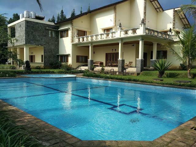 Villa Cisarua Puncak disewakan