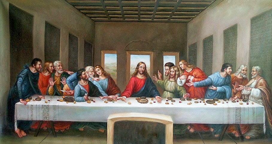 Art & Paintings: Leonardo da Vinci - The Last Supper Da Vinci Last Supper Original