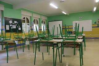 Edificio del colegio La Milagrosa