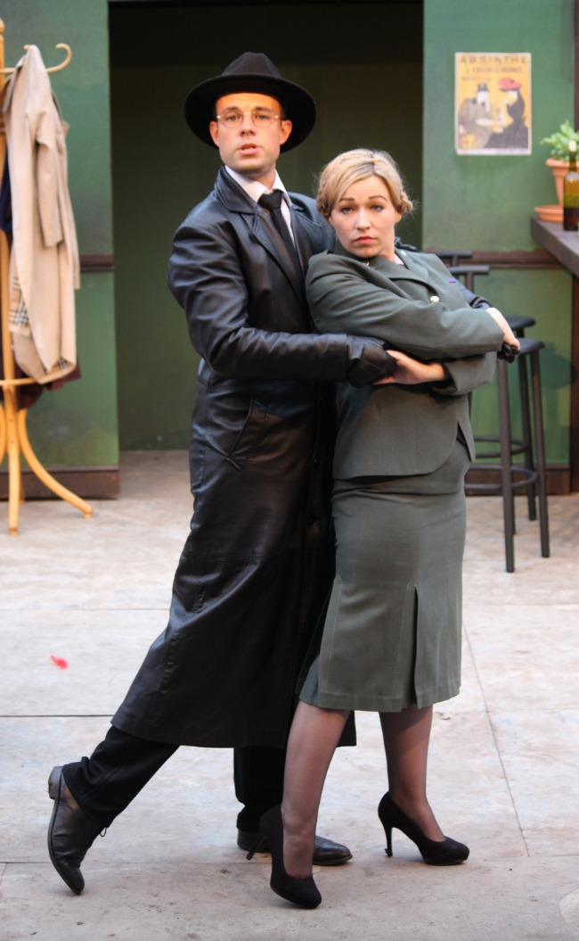 'Allo-'Allo-Cardiff-Open-Air-Theatre-Festival-Review--Herr-Flick-and-Helga-dancing-the-tango