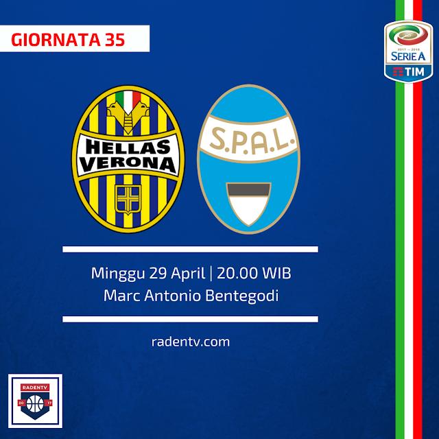 Hellas Verona vs SPAL
