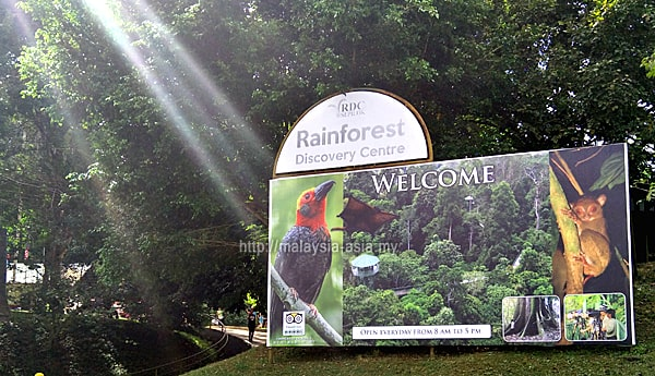 Sabah Rainforest Discovery Centre in Sepilok