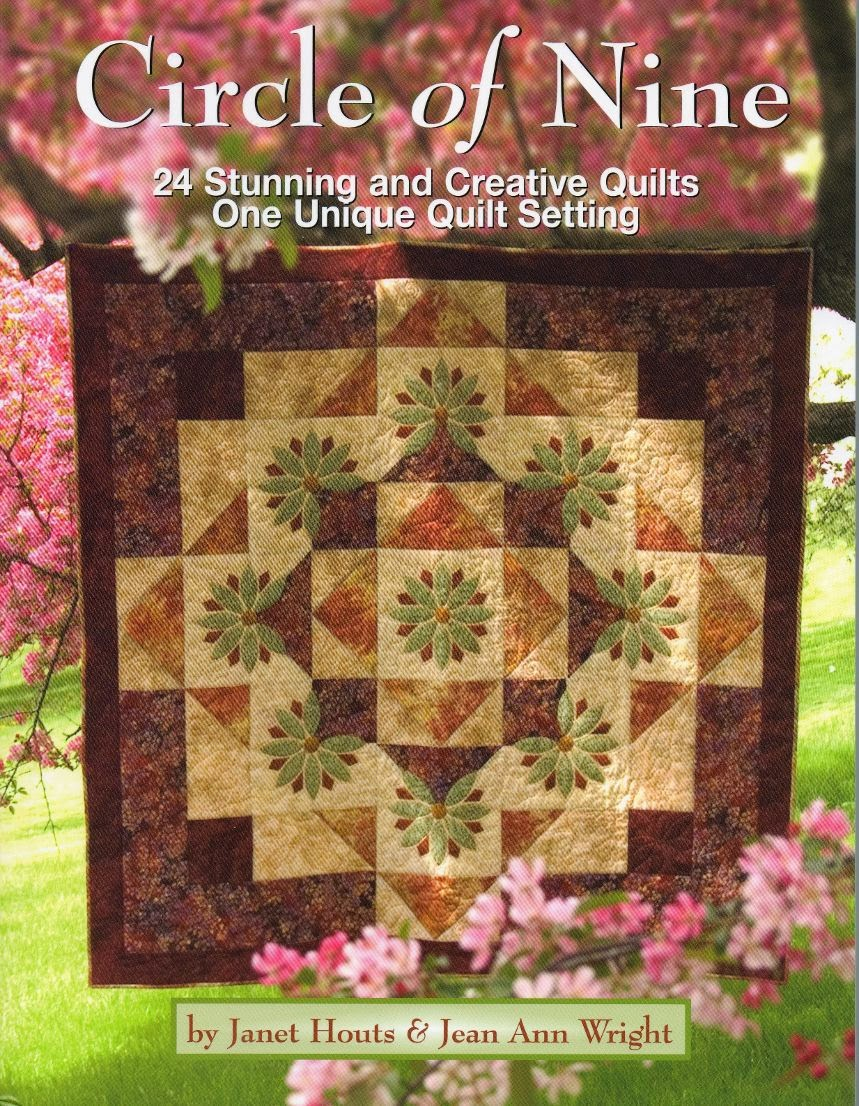 Mountain Quiltworks: Quilting A Circle Of Nine And Giveaway