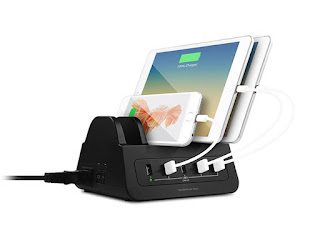 GorillaPower 5-Port USB & Power Dock