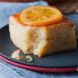 Zalivena pita od pomorandže - portokalopita