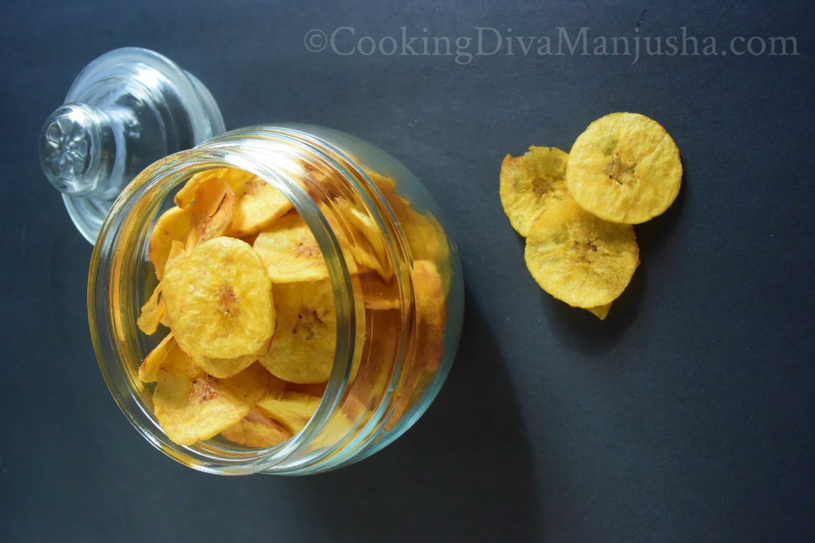 how to prepare banana chips