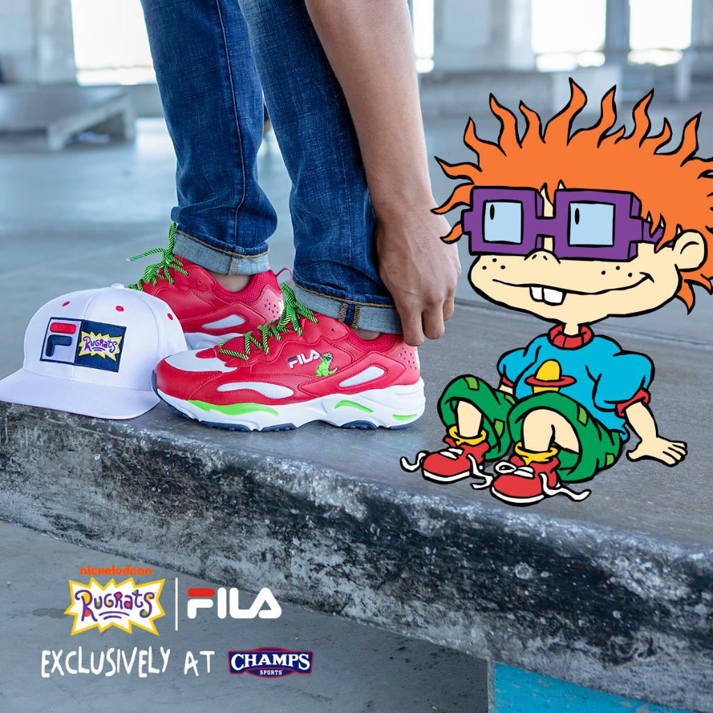 FILA-x-Rugrats-Capsule-Collection-Hat-Cap-Reptar-Shoes-Chuckie-Finster- Champs-Sports-Nickelodeon-Nick-NickSplat 2.jpg 1b10b00a6