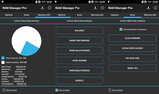 RAM Manager Pro Versi 7.4.3 Terbaru