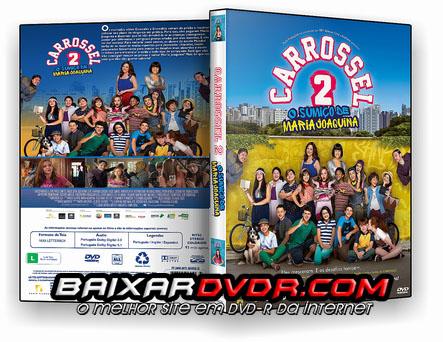 Carrossel 2: O Sumiço de Maria Joaquina (2016) DVD-R Oficial