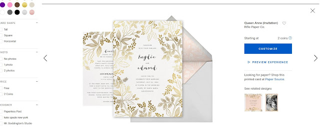 paperless posts blog review wedding invitations