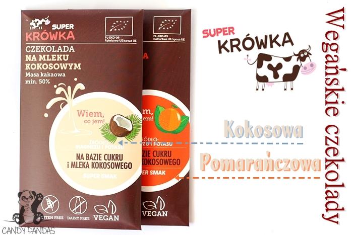 Wegańska czekolada kokosowa i pomarańczowa – Super Krówka