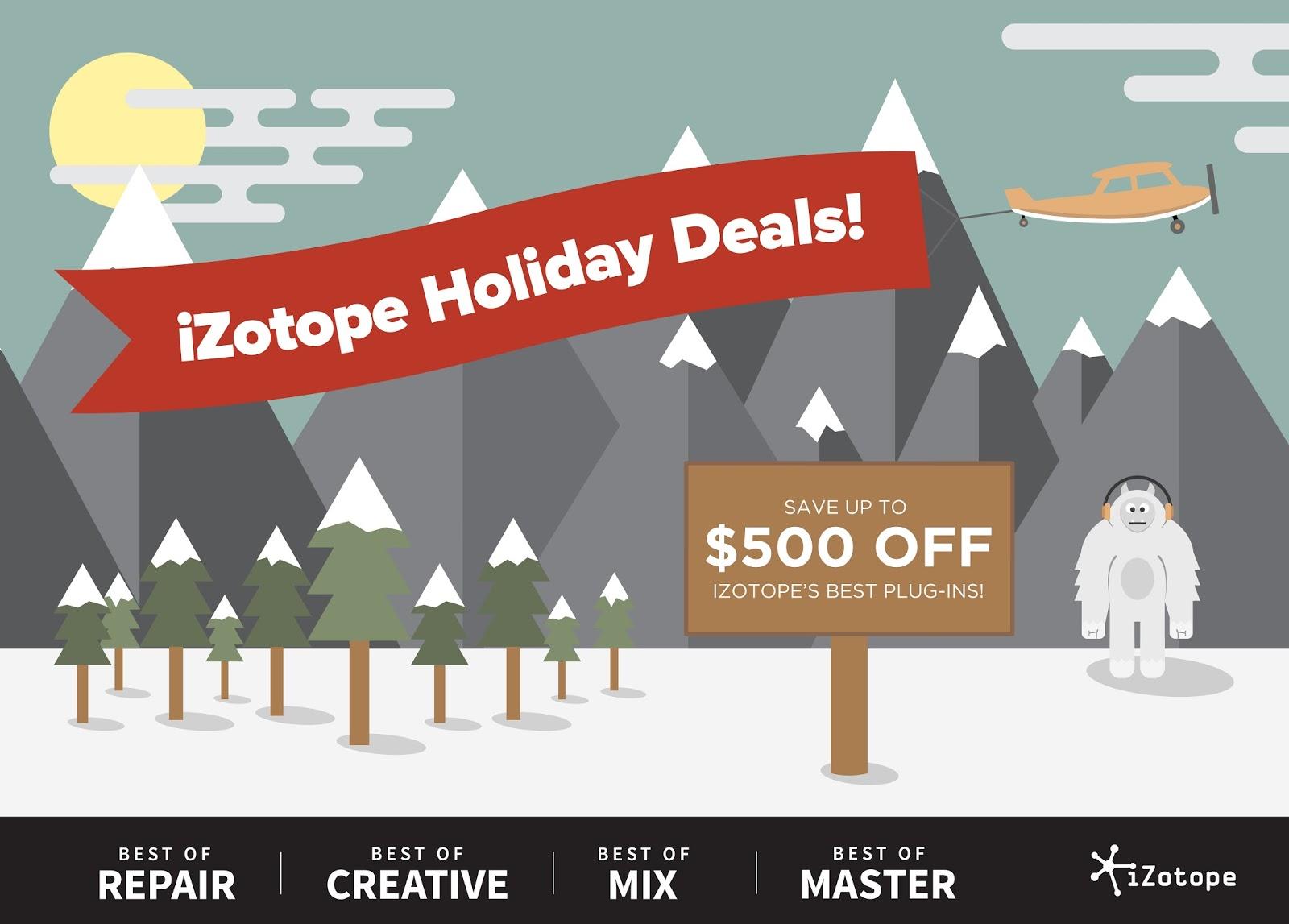 Izotope deals - Average harley rider deals gap