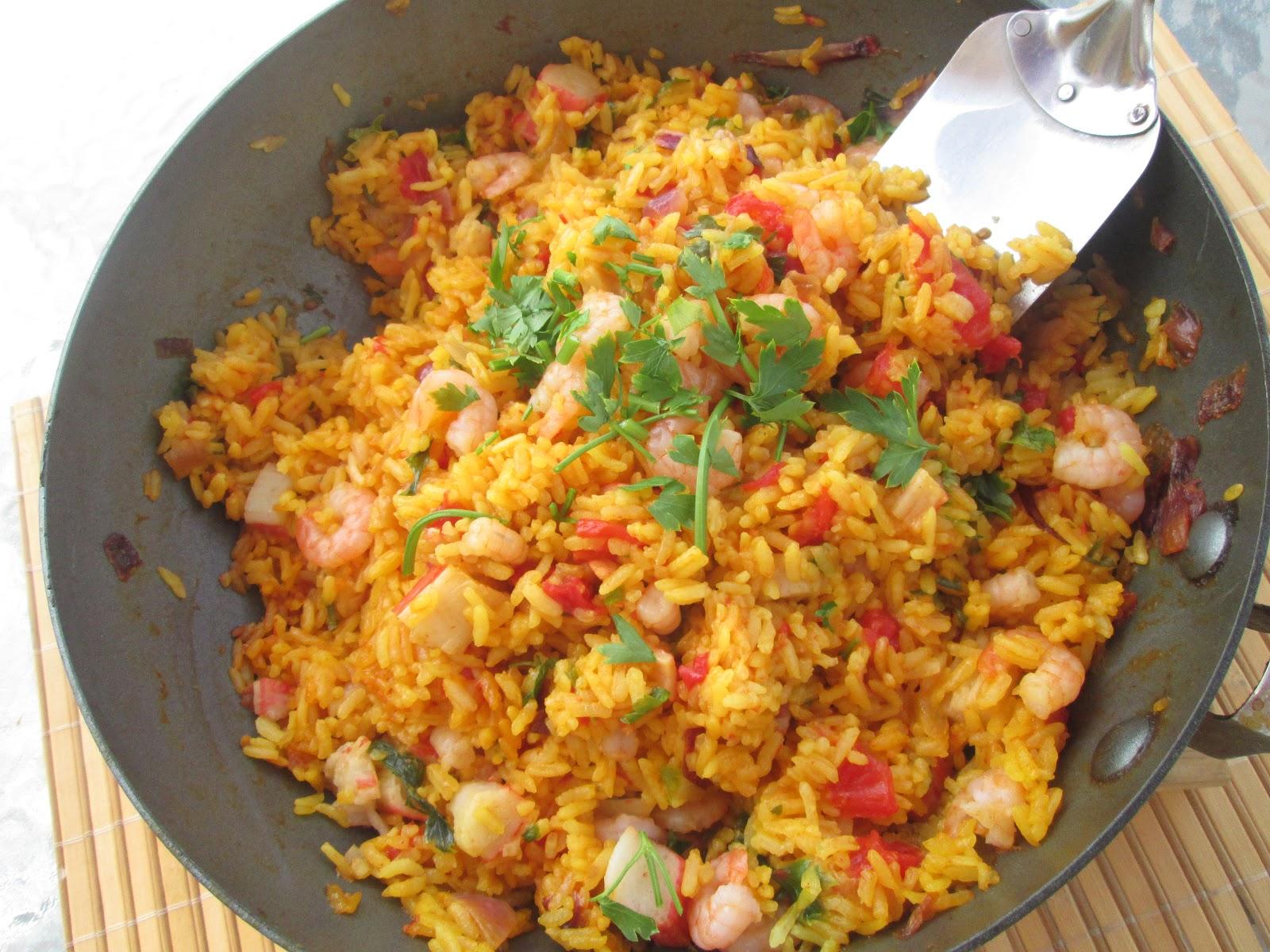 Idea Kitchen Canela Kitchen Gloria Seafood Paella