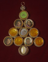Family tree ornament