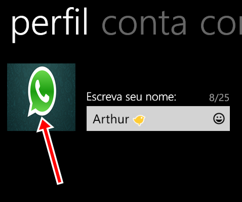 [Windows Phone] Alterar foto no whatsapp