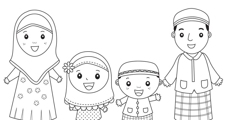 1010 Gambar Kartun Keluarga Sholeh Gratis Terbaik