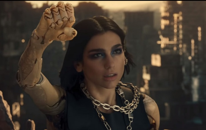 Dua Lipa's Swan Song Meaning-Alita Battle Angel Anthem