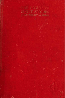 The Complete Short Stories of W. Somerset Maugham, 1951 Heinemann - W. Somerset Maugham