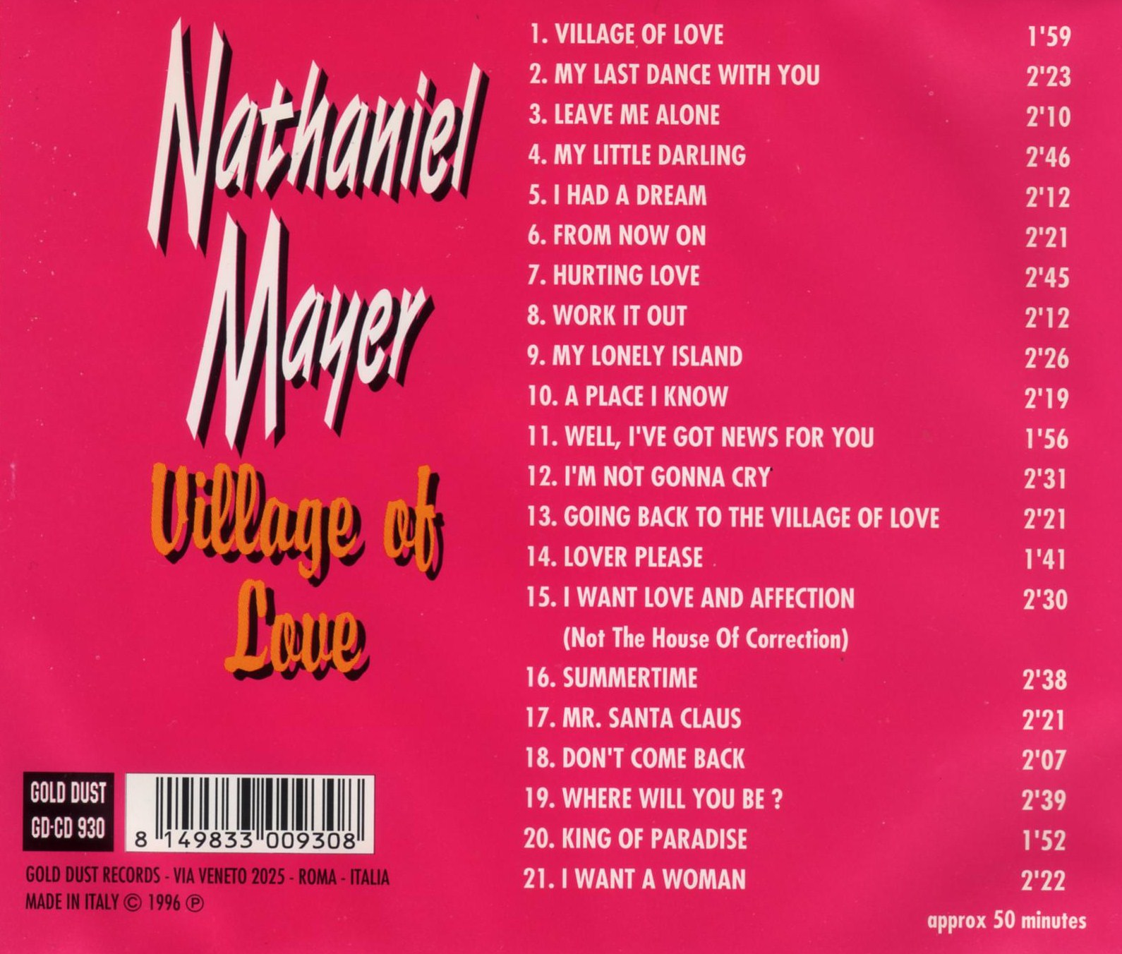 Nathaniel Mayer And Fortune Braves I Want Love And Affection From Now On