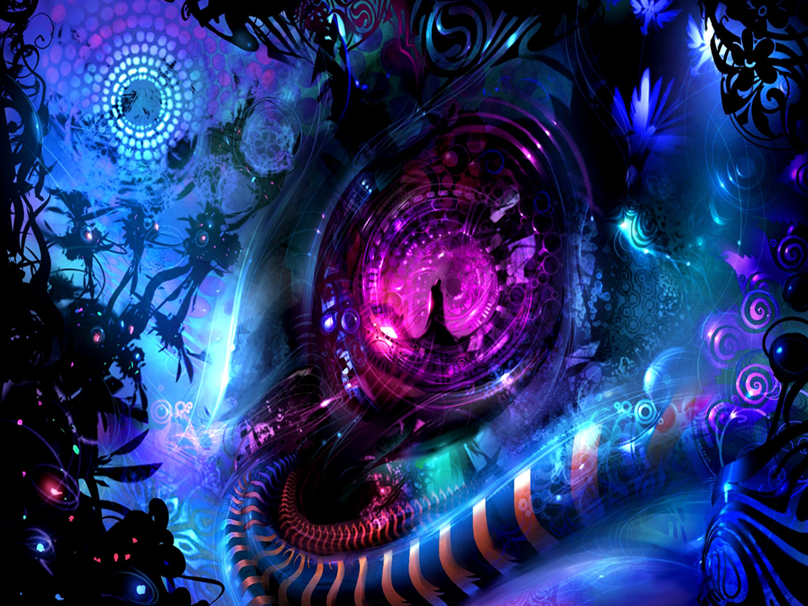 New Art Funny Wallpapers Jokes: Sci Fi Abstract Wallpapers